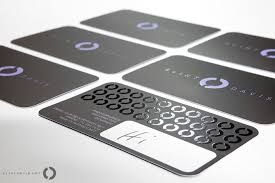 Business Cards Rounded Corners Clint Davis Business Card Design Inspiration