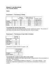 bio l10worksheet module 10 lab worksheet biotechnology dependent