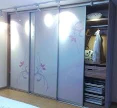 Mirror Sliding Closet Doors Panel Sliding Closet Doors Handballtunisieorg Sliding Closet Doors