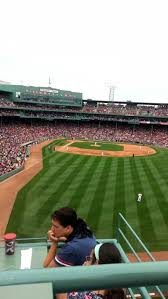 Fenway Park Seating Map Fenway Park Section Bud Light Roof Deck Row 2 Seat 1 Boston