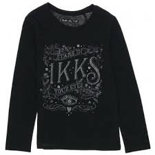 siege social ikks ikks shirt team fille vêtements t shirts polos