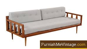 modern daybed sculpted arm mid century modern daybed