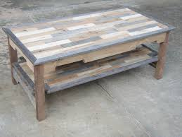 How To Build A Table Top How To Make A Pallet Coffee Table U2014 Interior Exterior Homie