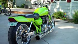1977 kawasaki kz1000 drag bike in hd youtube