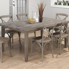 burnt grey coastal rectangle dining table the burnt grey coastal