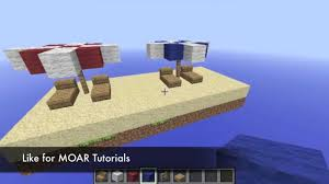 Beach Umbrella And Chairs A Noobs Guide To Minecraft Beach Umbrella And Beach Chair Youtube
