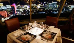 cuisine las vegas alizé at the top of the palms casino las vegas dining guide