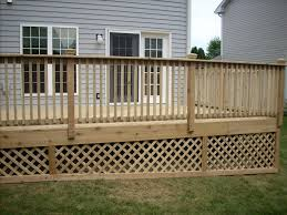 deck lattice design 1000 images about outdoor storage on pinterest