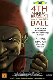 4th annual brazilian halloween ball saci day tickets thu oct