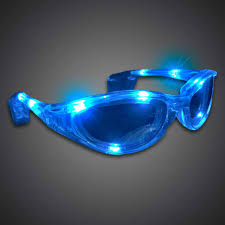 party sunglasses with lights extreme glow s battery operated lighted led sunglasses