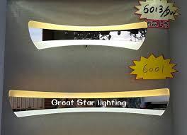 Bathroom Lighting Color Temperature Acrylic Fashion Double Color Temperature Led Mirror Lights New