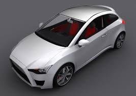 mitsubishi car mitsubishi cs design concept for a sporty looking colt replacement
