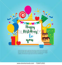 many stock birthday party invitation card vector creation many designs logo orange stock images royalty free images