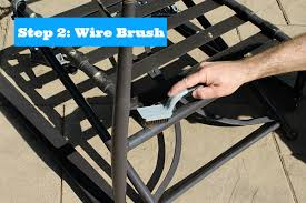 Outdoor Metal Patio Furniture Painting Metal Patio Chairs 5 Easy Steps To An Awesome Makeover
