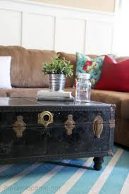 vintage trunk coffee table how to make rugs with paint pictured tutorial