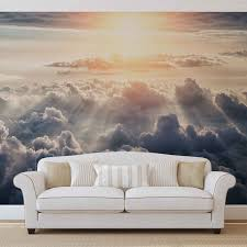 wall mural photo wallpaper xxl heaven sky sun clouds sunset image is loading wall mural photo wallpaper xxl heaven sky sun
