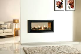 Modern Electric Fireplace Gas And Electric Fireplaces Surprising Two Sided Electric