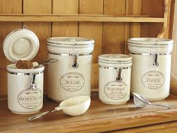 canisters kitchen farmhouse kitchen canisters look what ideas