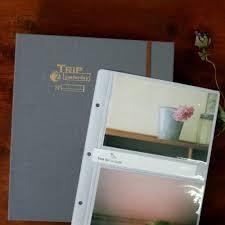 Pocket Photo Album Dailylike Illustration 4x6 Slip In Pocket Photo Album Fallindesign