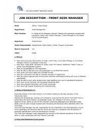 Hotel Front Desk Agent Resume 100 Medical Front Desk Resume Resume Objective For Medical