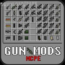mcpe free apk gun mods for mcpe android app free in apk