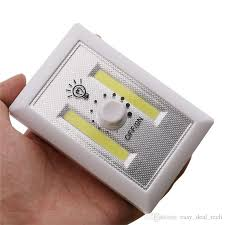 magnetic battery operated led lights magnetic mini cob led cordless light switch wall night lights