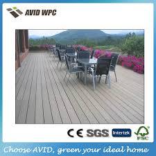 White Waterproof Laminate Flooring Prefab Home White Antiseptic Wood Plastic Composite Decking