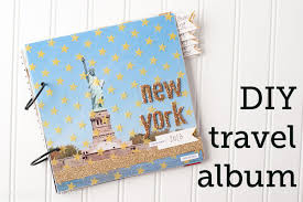 diy scrapbook album diy photo album a tutorial for an easy travel scrapbook