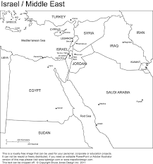 Empty Map Of Africa by Middle East Geography Maps Of The Middle East This Website Shows