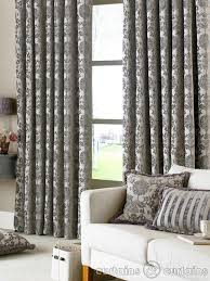 Bedroom With Grey Curtains Decor Grey Pattern Curtains Home Decor On Office Curtains Ideas On