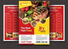 menu flyer template steak house menu flyer steak menu flyer