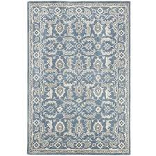 Pier 1 Area Rugs Lata Traditional Blue 5x8 Rug Traditional Bedroom Closets And