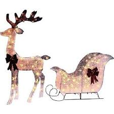 Outdoor Christmas Decorations Sleigh by Jingle All The Way With These Outdoor Christmas Decorations