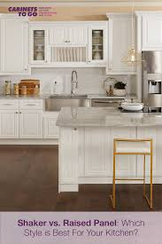 white kitchen cabinets raised panel shaker vs raised panel which style is best for your