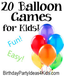 20 of the very best games to play with balloons fun balloon games