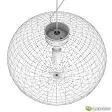 3d glo ball s pendant lamps cgtrader