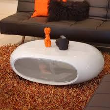 design couchtisch weiãÿ design couchtisch space weiß hochglanz 100x70cm oval 535