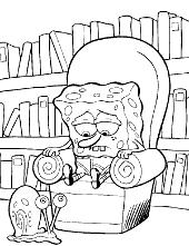 spongebob squarepants printable coloring pages books patrick star