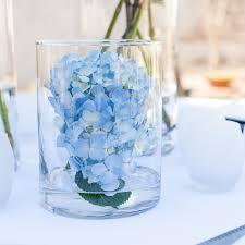 hydrangea centerpiece lush hydrangea centerpiece single