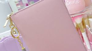 kate spade light pink wallet new kate spade planner youtube