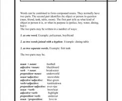 27 free compound adjective worksheets