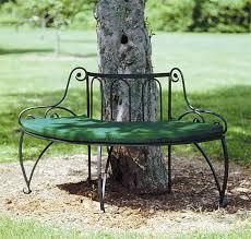 wrought iron garden bench the tree jbeedesigns outdoor