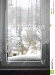 window with view to a snowy winter scene stock photo image 35106830