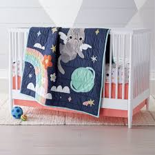 girls crib bedding sets the land of nod
