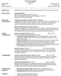 Resume Examples For Project Managers by Computer Science Resume U2013 Resume Examples