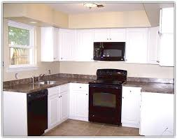 White Kitchen Cabinets With White Appliances Kitchen Cabinets White Appliances Home Design Ideas