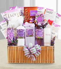 lavender gift basket fields of lavender for