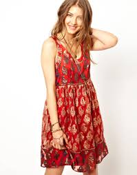free people holiday party dress in red lyst