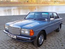 mercedes 230e chrome mercedes 230e w123 series 1984 a blue