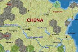 Yellow River China Map by Re Modifications To Mwif China Map Portion